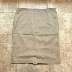 Staple Khaki Pencil Skirt